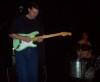 Bob Williams and his green pale green Strat